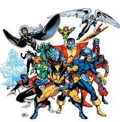 Resultado de imagem para x-men desenho classico