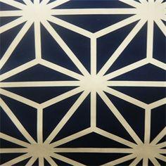 Kyoto Sapphire Contemporary Drapery Fabric