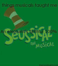 An Elephant's Faithful 100%.