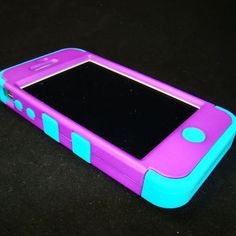 Decorative Otter Boxes Otter Box Defender For Iphone 4 Teal And Pink $28  Otter Box