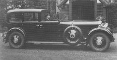 1930 Limousine de Ville by Van den Plas (chassis 15GY, body 1676, design 529) for Edward Harding