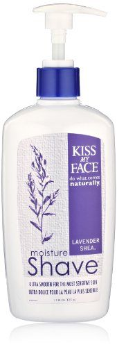 Kiss My Face Moisture Shave Lavender  Shea  11 oz -- See this great product. (Note:Amazon affiliate link)