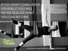 Flight Challenge with Linda tonight at 7.  Because gravity is working harder on your body than usual, your muscles work harder too. #core #flightchallenge #gravity #muscles #workhard #aerialyoga #antigravityyoga