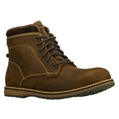 Skechers Kepler-Orbay Boots (Brown) - Men's Boots - 9.5 M