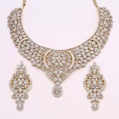 Diamond necklace bridal collections ~ Latest fashion