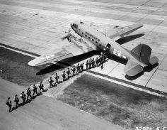 C-47 Loading Paratroopers