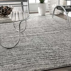 Find nuLOOM Ripple Contemporary Sherill Area Rug, x Grey, Gray online. Shop the latest collection of nuLOOM Ripple Contemporary Sherill Area Rug, x Grey, Gray from the popular stores - all in one Affordable Rugs, Area Rugs For Sale, Polypropylene Rugs, Vase, Subtle Textures, Cow Hide Rug, Modern Spaces, Grey Rugs, Online Home Decor Stores