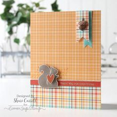 """Nuts About You"" Simons Says Stamp October Card Kit Reveal and Inspiration 