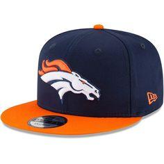 Denver Broncos New Era Youth Baycik 9FIFTY Snapback Adjustable Hat – Navy  Orange 6068ab8be257