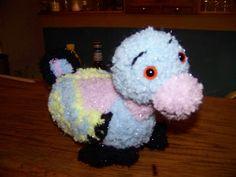 Canard fait sans modèle, pour utiliser de la laine douce