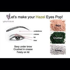 Make your Hazel Eyes Pop with these Younique Mineral Eye Pigments! Set of 4 for $35. Get yours here... www.youniqueproducts.com/katiesvoboda