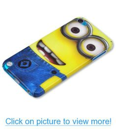 HJX Ipod touch 5 Cute Despicable Me Minions Snap-on Hard Case Skin for Apple Ipod touch 5 Smile Cute Ipod Cases, Ipod Touch Cases, Bling Phone Cases, Ipod Touch 6th, Cool Cases, Iphone 5c Cases, Ipod Touch 5th Generation, Ipod Nano, Mobile Cases