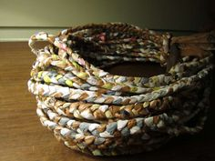 The tutorial is for a basket... But what about bracelets? :D