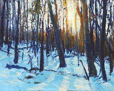 Winter Sun Art Print by Armand Cabrera