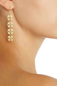 cute 24-karat gold-vermeil filigree earringsfrom Mallarino