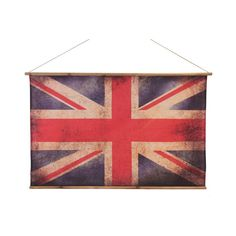 Where can i buy find Vintage Union Jack Flag Bamboo Poles, Wooden Poles, Unique Gifts For Men, Cool Gifts, Pimms O Clock, Blue Wall Decor, Jack Flag, Presents For Her, Easy Wall