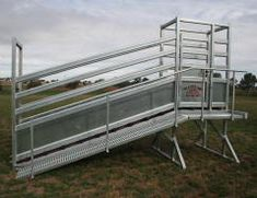 M & M Stockyards - Our Gear - cattle yards, portable panels, ramps, gates. Equestrian Stables, Loading Ramps, Livestock, Cattle, Gates, Barn, Fence, Stalls, Farming