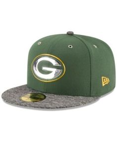 New Era Kids' Green Bay Packers 2016 Nfl Draft 59FIFTY Fitted Cap - Green 6 1/2