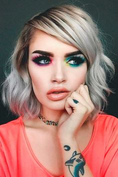 Eye Makeup Tips.Smokey Eye Makeup Tips - For a Catchy and Impressive Look Makeup Goals, Makeup Inspo, Makeup Inspiration, Makeup Tips, Makeup Ideas, Beauty Make-up, Beauty Hacks, Hair Beauty, Make-up-tipps Und Tricks