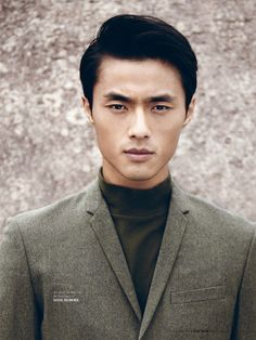 Chinese model Zhao Lei, ranked among the top 50 male models