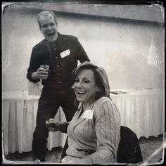 Ann Liston and Dave McKinney.#tintype #hipstamatic #eiuden