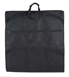 48' Nylon Travel Garment Bag - Black ** For more information, visit image link. (This is an Amazon Affiliate link and I receive a commission for the sales)