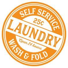 Jillibean Soup - Silhouette Design Store / Cut File - Self Service Laundry