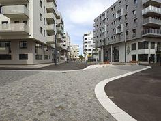 Seestadt Aspern by DnD Landschaftsplanung ZT KG www. Urban Design, Place, Landscape Architecture, Public, Street View, Multi Story Building, Sidewalk, The Originals, House