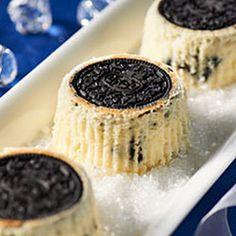 OREO Upside-Down Mini Cheesecakes