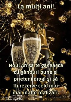 Noul An să te găsească cu gânduri bune și prieteni dragi și să îți rezerve cele mai mai înalte realizări. Happy New Year Gif, Happy New Year Photo, Happy New Year Images, New Year Photos, Happy Birthday Pictures, Happy Birthday Fun, An Nou Fericit, Winter Scenery, Diy Wall Art