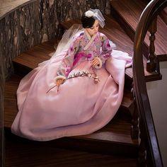 Hanbok épingle à cheveux coréen bois traditionnelle Accessoire chignon Ornement binyeo 1EA