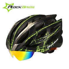 39.99$  Watch here - http://alivnx.shopchina.info/go.php?t=32789162714 - 2017 RockBros MTB Road Cycling Helmet Men Women 32 Air Vents Goggles Bicycle Bike Helmet With 3 Pair Of Lens Casco Ciclismo 39.99$ #buychinaproducts