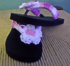 Princess Flip Flops for Royal Fun in the Sun by grammalea on Etsy, $10.50