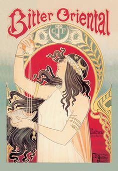 Bitter Oriental, by Henri Privat-Livemont