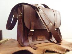 Post man bag. Handmade. Leather goods
