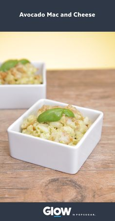 The secret to this lower-calorie mac and cheese? Avocado! Get ready to become obsessed with this mac and cheese, avocado addicts!