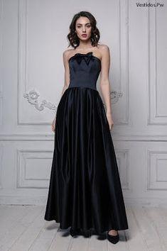 Vestidos de graduación largos Strapless Dress Formal, Formal Dresses, Fashion, Fashion Dresses, Maxi Skirts, Dresses For Formal, Moda, Formal Gowns, Fashion Styles