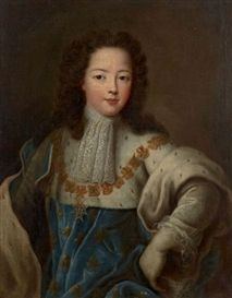 Portrait de Louis XV enfant, circa 1715 by Pierre Gobert