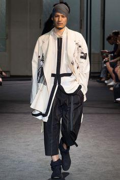 Moody Hues: Yohji Yamamoto Men's Spring 2017 | Hint Fashion Magazine
