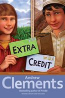 "Andrew Clements ""Extra Credit"" book we did not only review it, but engaged in a conversation that SYNTHESIZED how similar situations pop-up in our classrooms, and how engage students and include all students without accidentally excluding students."