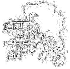 Castle Grimgrannog, Part III – Catacombs [Wednesday Map]