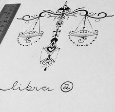 Libra Scale Tattoo, Libra Zodiac Tattoos, Libra Tattoo, Juwel Tattoo, Sternum Tattoo, Tattoo Drawings, Cute Tattoos, Beautiful Tattoos, Body Art Tattoos