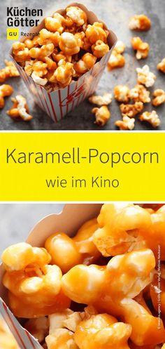 So einfach und so knusprig! Der ultimative #Snack für die nächste #Party oder den #Kinoabend zu Hause. Wir verraten dir, wie du leckeres #Karamell-Popcorn einfach selber machst.
