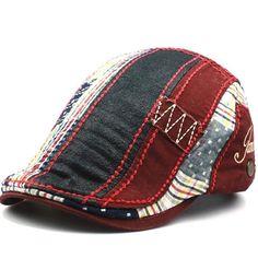 10bf7572f24 Beret Casquette Hat ~ Cotton Cap. BeretTweedMens Flat ...