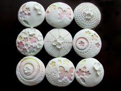 Pretty in Pastel Cupcakes-see through white fondant