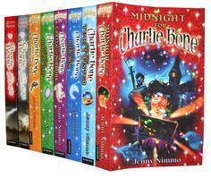Charlie Bone series - Jenny Nimmo...a cute YA series.