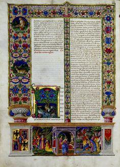 Bibbia Borso d'Este, XV sec.