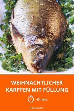 Weihnachtlicher Karpfen mit Füllung - smarter - Zeit: 45 Min. | eatsmarter.de