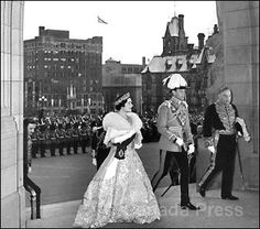 Queen Elizabeth (later The Queen Mother) visiting Canada with King George VI in 1939 by The British Monarchy, via Flickr