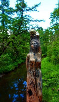 ShapingSpirit Driftwood Spirit Sculptures by Debra Bernier